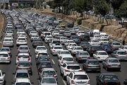 وضعیت محورهای مواصلاتی در ۱۸ آذر/ افزایش ۱.۲درصدی تردد در محورهای برون شهری