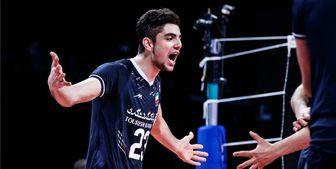 عامل سعادت ایران مقابل بلغارستان