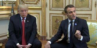 پیشنهاد ماکرون به ترامپ، در مورد ایران چه بود؟