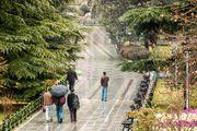 ورود سامانه بارشی در اولین روز سال