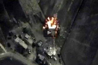 بمباران مواضع ترویست ها در سوریه توسط روسیه / فیلم