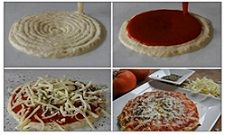 چاپگری که پیتزا تولید میکند! + عکس