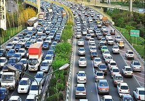 آخرین وضعیت ترافیک معابر بزرگراهی شهر تهران