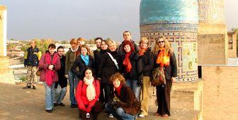 ورود 350 هزار گردشگر روس به ازبکستان