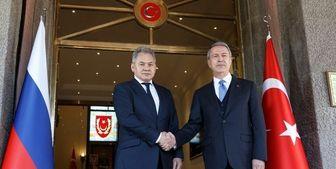 گفتوگوی وزرای دفاع ترکیه و روسیه درباره لیبی و سوریه