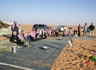 شاهزاده پولدار عربستانی بعد از آزادی/ عکس