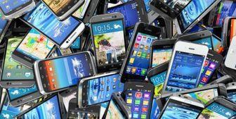 میزان واردات تلفن همراه طی سالی که گذشت