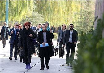 دیدار هیئت پارلمانی اروپا با خانواده شهدای هستهای