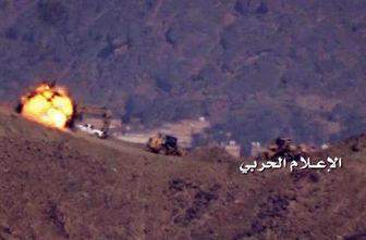 حملات توپخانه ای یمنیها به مواضع نظامیان سعودی
