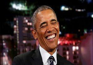 پرتره رسمی اوباما به باد مسخره گرفته شد+عکس