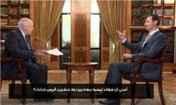 اسد: سوریه از حملات ائتلاف ضد داعش مطلع است