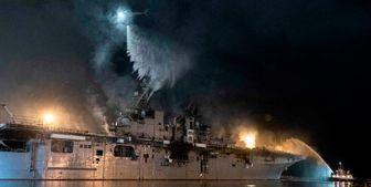 عامل اصلی آتشسوزی ۵ روزه در کشتی آمریکایی
