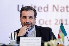 تبرک عراقچی به برنده جایزه صلح نوبل