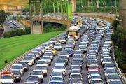 ترافیک سنگین در بزرگراههای پایتخت