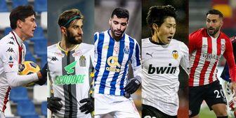 4 بازیکن ایرانی، نامزد بهترین لژیونر هفته آسیا