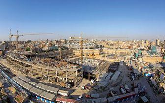 آخرین وضعیت ساخت صحن حضرت زینب (س)