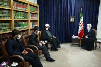 دیدار فرمانده قرارگاه حضرت مهدی (عج) با مدیر حوزه های علمیه کشور