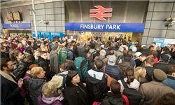کارکنان سیستم حملونقل بریتانیا اعتصاب میکنند