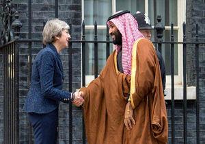 توافق ترزا می و محمد بن سلمان درباره همکاری برای مقابله با ایران