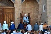 برپایی نماز عید قربان در مساجد ازبکستان+تصاویر