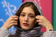 خانم بازیگر با سر تراشیده شده در اکران فیلم «یلدا»/ تصاویر