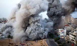 شهادت ۵ فلسطینی در بمباران امروز غزه