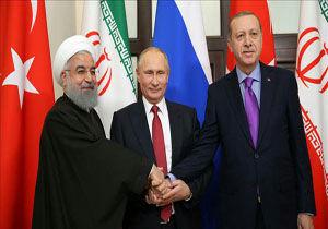توافق ترکیه، روسیه و ایران درباره آتش بس پایدار در سوریه