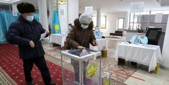 پایان انتخابات پارلمانی قزاقستان