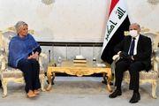 دیدار وزیر خارجه عراق با رئیس هیئت نمایندگی سازمان ملل