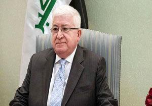 رئیسجمهور عراق: مردم اقلیم کردستان آرامش خود را حفظ کنند