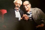 واکنش پدرسالار به درگذشت جمشید مشایخی/ عکس