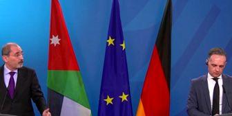 رایزنی وزیر خارجه آلمان با همتای اردنی خود