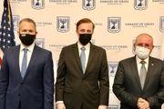 رایزنی هیأت اسرائیلی با مشاور امنیتی بایدن درمورد برنامه هستهای ایران