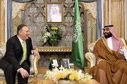 دیدار پمپئو با محمد بن سلمان
