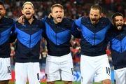 ایتالیای مانچینی شکست ناپذیرترین تیم ملی تاریخ فوتبال