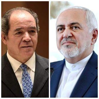 ظریف و وزیر خارجه الجزایر درباره معامله قرن گفتوگو کردند
