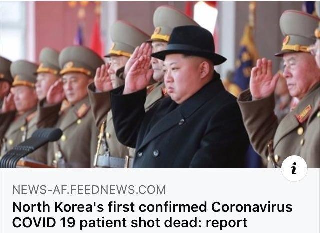 کره شمالی اولین بیمار کرونایی را اعدام کرد! +عکس