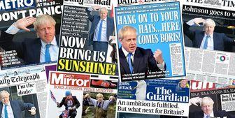 واکنش مطبوعات و سران بینالمللی به نخستوزیری جانسون