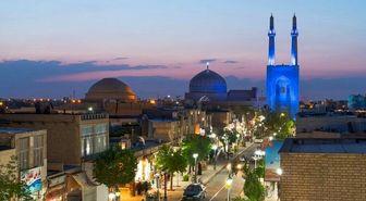 هنر بی نظیر معماری ایرانی در مسجد جامع یزد