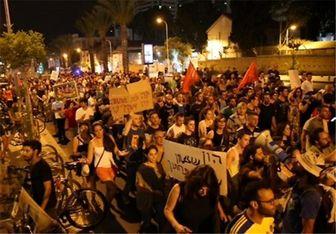 تظاهرات گرجستانی ها در برابر مجلس تفلیس