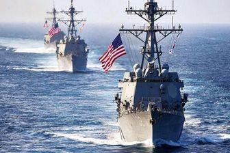 تقابل ناوهای روسیه و آمریکا در شمال دریای عرب