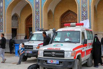 اعزام بیماران مراسم اربعین به مراکز درمانی از مرز هوایی و زمینی