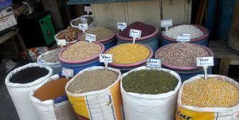 نرخ انواع خشکبار در بازار