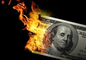 افت فروش اوراق بدهی دلاری