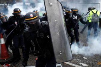 استفاده پلیس فرانسه از سلاح فلجکننده