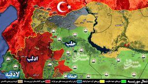 جنگ مستقیم روسیه و آمریکا در سوریه