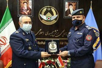 دیدار فرماندهان نیروی هوایی ایران و عراق