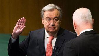 دبیرکل جدید سازمان ملل سوگند یاد کرد