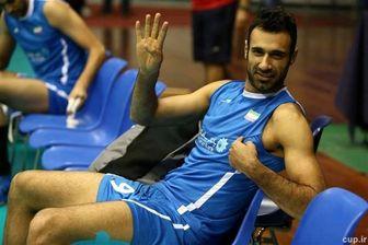 اطلاعیه کادر فنی تیم ملی والیبال درباره عادل غلامی