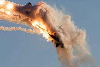 ساقط شدن یک پهپاد صهیونیستی بر فراز غزه